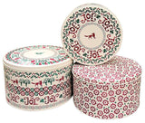 Christmas Joy Cake Tins 3pc. Set #EMX3146
