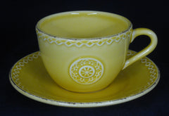 Manon Cup & Saucer - Yellow #5001-0013