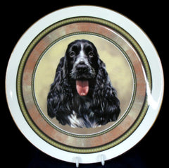 Dogs - Cocker Spaniel Plate