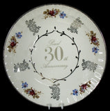 30th Anniversary Plate - Large #WS30PL