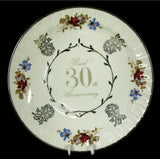 30th Anniversary Plate - Small #WS30PS
