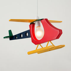 3D Helicopter Non-Electric Pendant