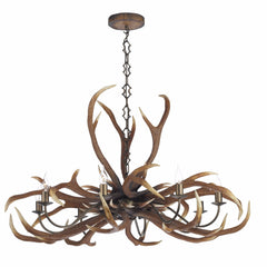 ANTLER Emperor 8 Light Pendant