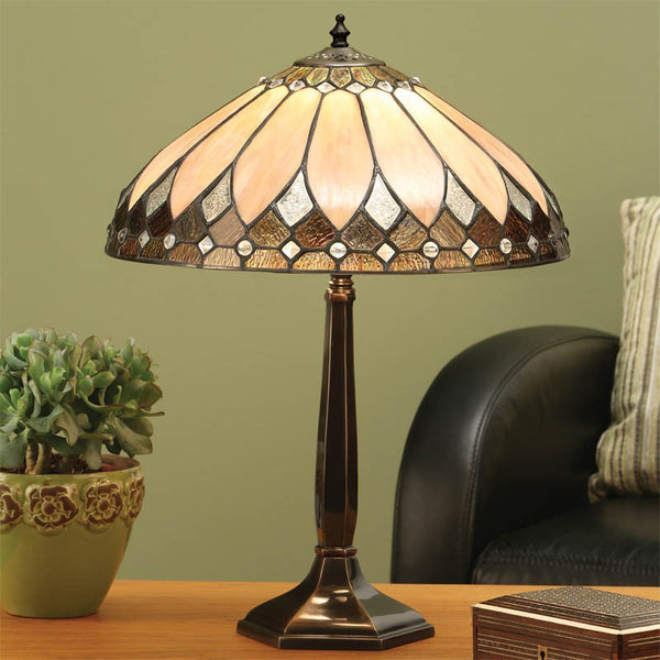 BROOKLYN 1 Light Table Lamp - Brass