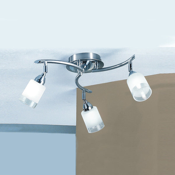 CAMPANI Triple Spotlight - Satin Nickel