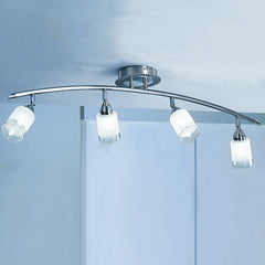 CAMPANI 4 Light Spot Bar - Satin Nickel