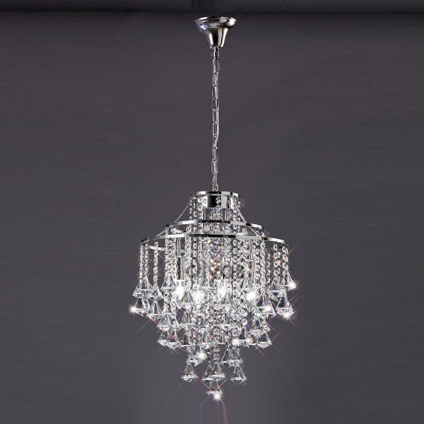 ININA 4 Light Pendant in Chrome