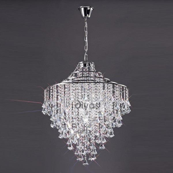 ININA 5 Light Pendant in Chrome