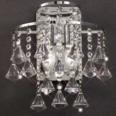 ININA Double Wall Light in Chrome