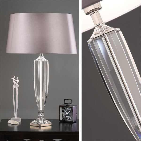 HEMMINGWAY Crystal Table Lamp (base only)