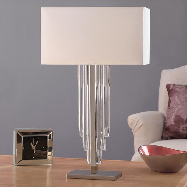 CASCADE Crystal Table Lamp