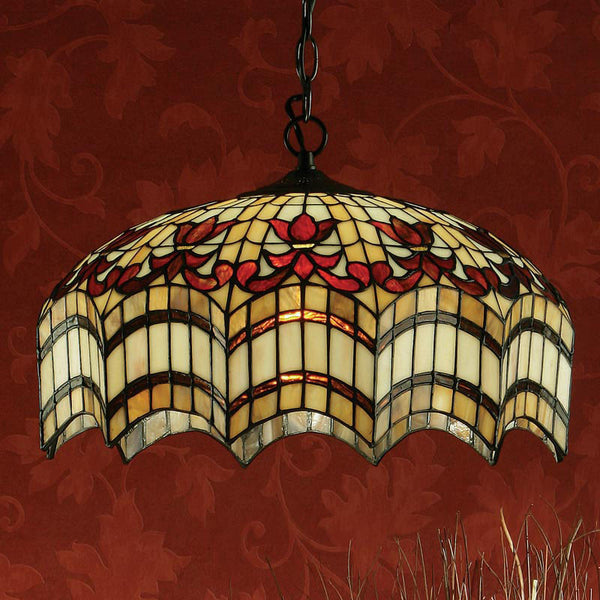 VESTA Tiffany 3 Light Pendant