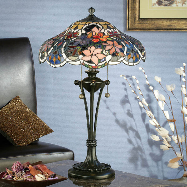 SULLIVAN Tiffany 2 Light Table Lamp