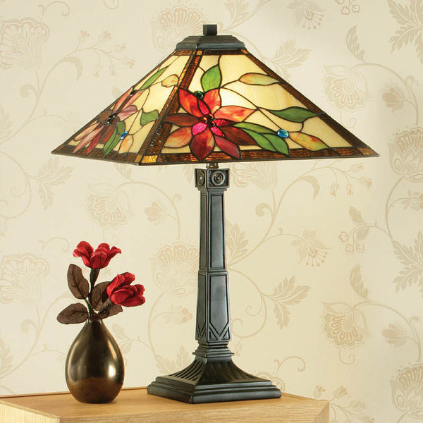 LELANI Tiffany 2 Light Table Lamp
