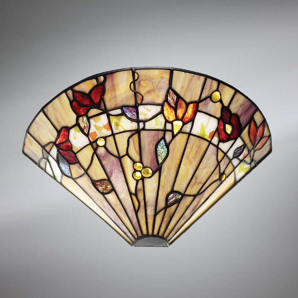 BERNWOOD Tiffany 1 Light Wall Light