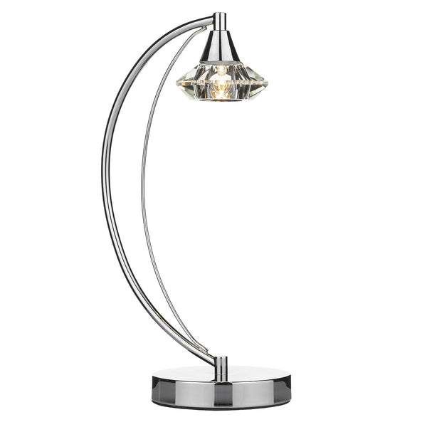 LUTHER Table Lamp in Polished Chrome