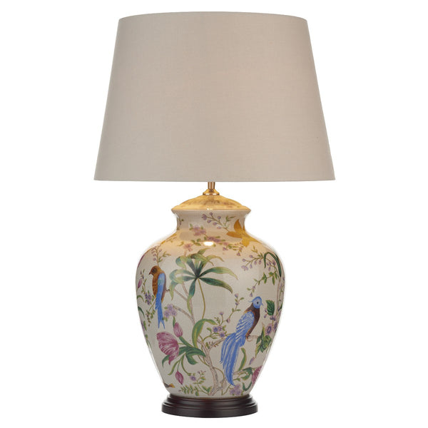 MIMOSA 1 Light Ceramic Table Lamp (Base Only)
