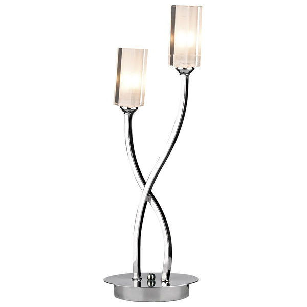 MORGAN Table Lamp - Polished Chrome