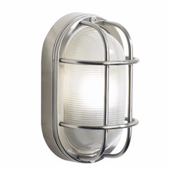 SALCOMBE 1 Light IP44 Oval Wall/Ceiling Light