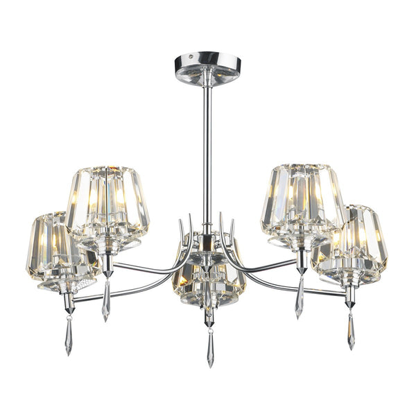 SELINA 5 Light Semi Flush
