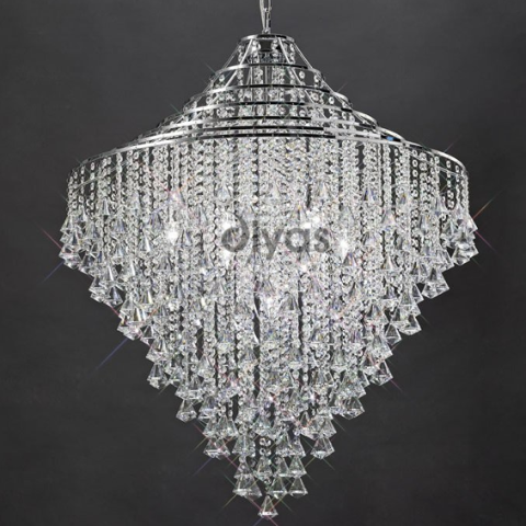 ININA 7 Light Pendant in Chrome
