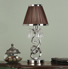 OKSANA Mini Table Lamp in Nickel