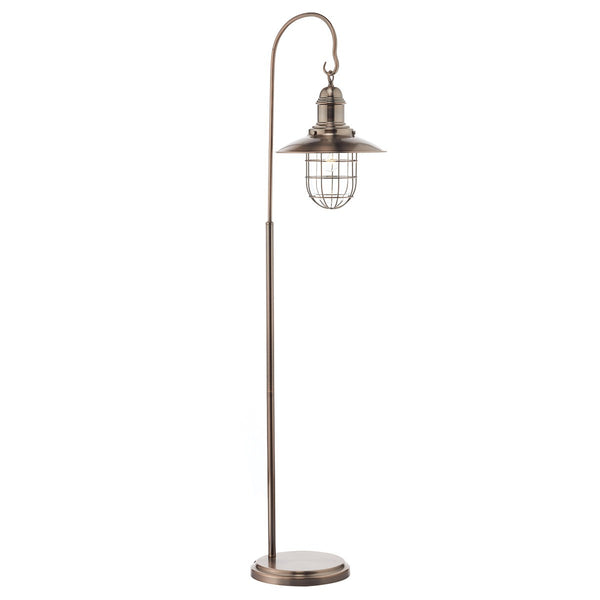 TERRACE 1 Light Floor Lamp - Copper