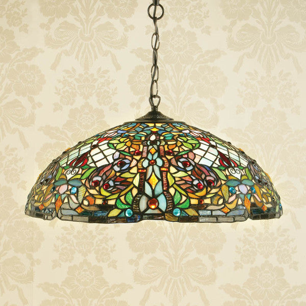 ANDERSON Tiffany Large 3 Light Pendant