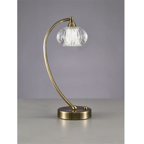 RIPPLE Table Lamp - Antique Brass
