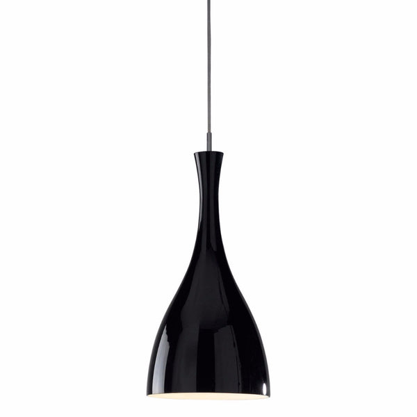 TONE 1 Light Single Pendant in Gloss Black