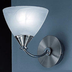 MERIDIAN Single Wall Light in Nickel