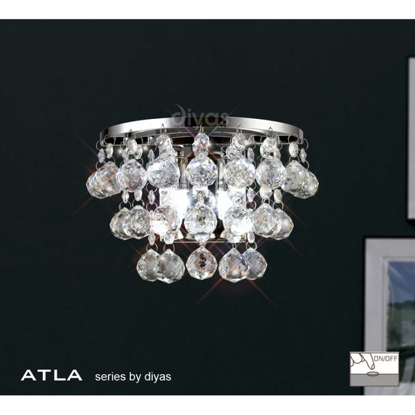 ATLA Double Crystal Wall Light