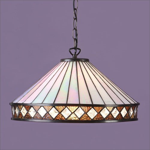 FARGO Tiffany 1 Light Pendant