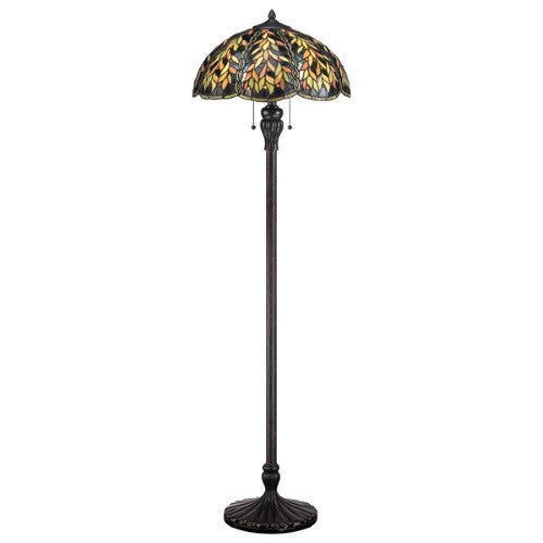 BELLE Tiffany 2 Light Floor Lamp