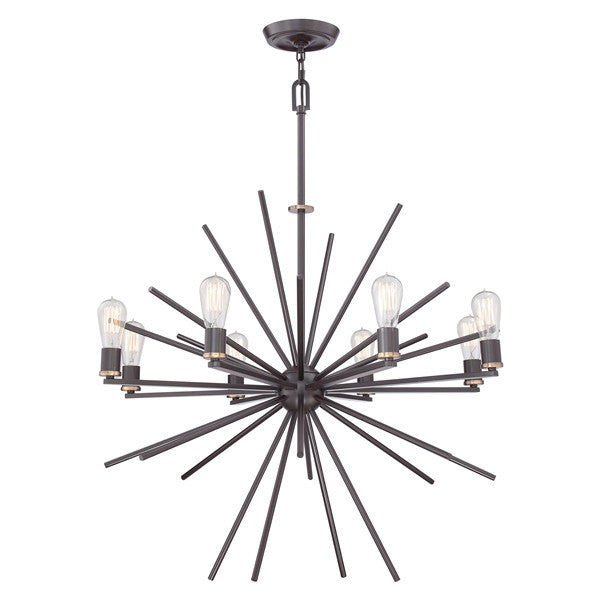 CARNEGIE 8 Light Pendant