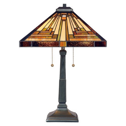 STEPHEN Tiffany 2 Light Table Lamp