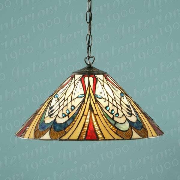 HECTOR Tiffany 1 Light Pendant