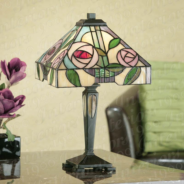 WILLOW Tiffany Small Table Lamp