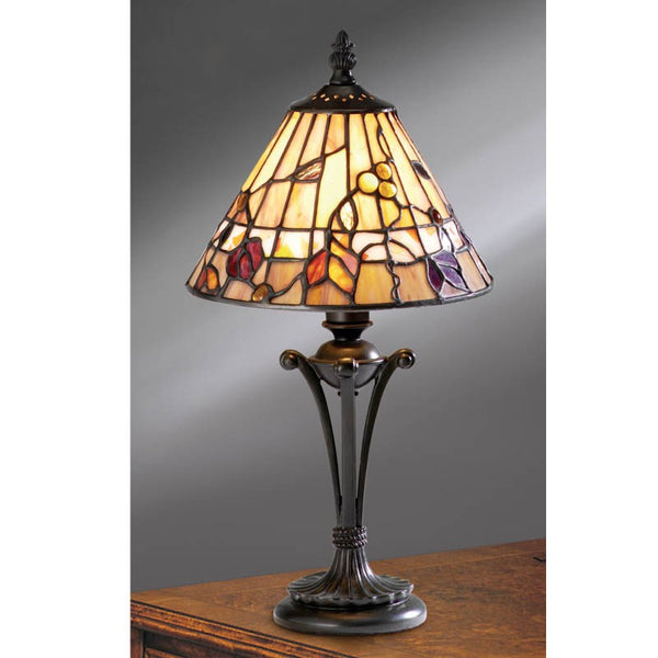 BERNWOOD Tiffany Small Table Lamp