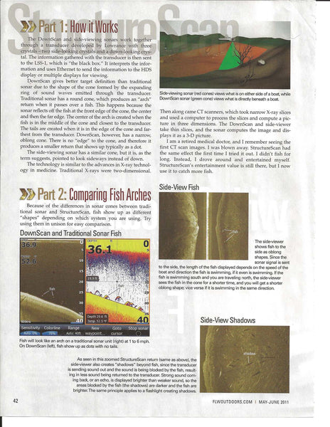 Lowrance Structurescan What We See Doctor Sonar