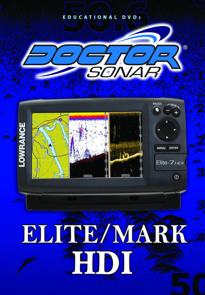 x Lowrance Elite HDI training DVD