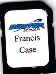 Francis Case map