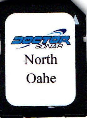 Oahe South Dakota - North Map