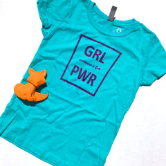 Tween GRL PWR - Confidence Is Key Tee