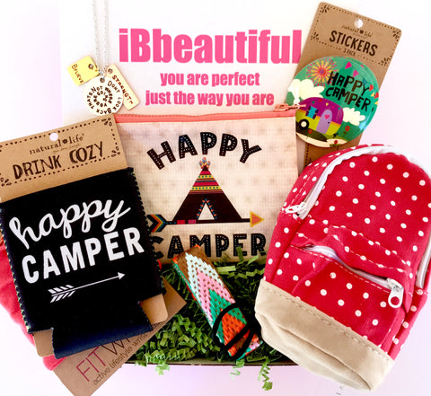 iBbeautiful monthly subscription box for girls camp box for girls