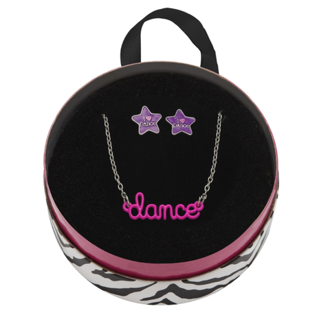 Dance Necklace and Earrings