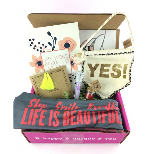 iBbeautiful subscription box for girls
