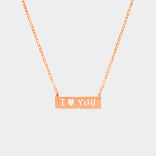 I (heart) You Necklace