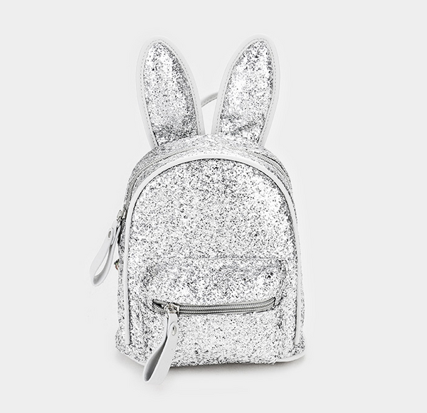 Sequin Bunny Ear Mini Backpack