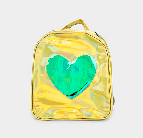 Hologram Heart Mini Backpack